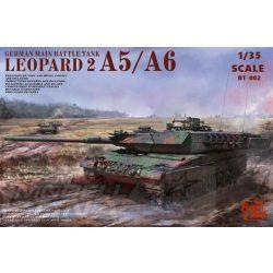 Border Model - 1:35 Leopard 2 A5/A6 3 az 1-ben - makett