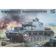 Border Model - 1:35  PZ.KPFW.IV AUSF.F1 3 az 1-ben - makett