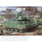 Border Model - 1:35 T-34E (kiegészítő páncélozottsággal) / T-34-76 2 az 1-ben- makett