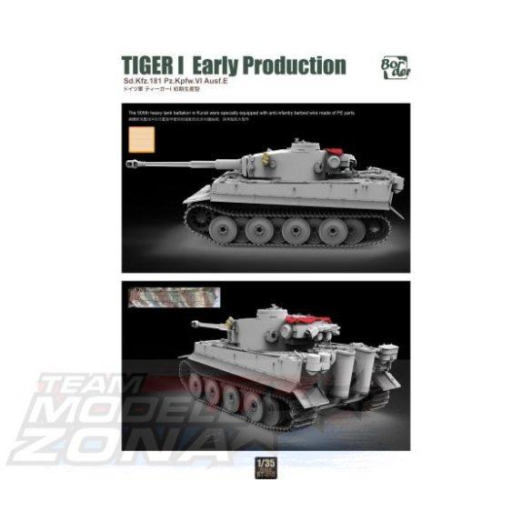 Border Model - 1:35 TIGER I Early Production Sd.Kfz.181 - makett
