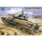 Border Model - 1:35 Crusader Mk.III - British Cruiser Tank Mk. VI - makett