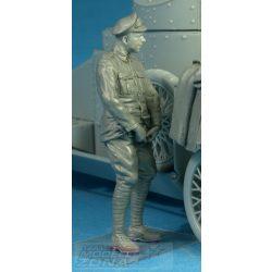 CSM - 1:35 RNAS Armoured Car Division Petty Officer Relief - makett figura