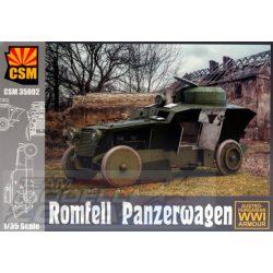 CSM - 1:35 Romfell Panzerwagen - makett