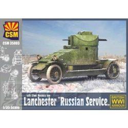 CSM - 1:35 Lanchester Russian Service - makett