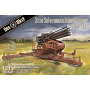 Das Werk - 1:35 2cm Salvenmaschinenkanone SMK 18 - Typ 2 - makett