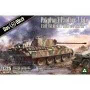 Das Werk - 1:35 Pzkpfwg. V Panther Ausf.A Late 2 in 1 (Sd.Kfz.171 vagy Sd.Kfz.267) - makett