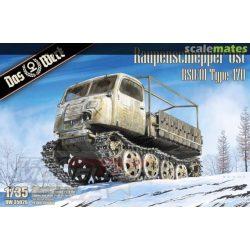 """Das Werk - 1:35 """"Kelet lánctalpas vontató"""" - RSO / 01 Type 470 - makett"""