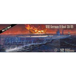 Das Werk - 1:72 U-Boat SM U-9 - tengeralattjáró makett