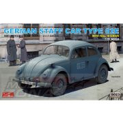 Rye Field Model - 1:35 GERMAN STAFF CAR TYPE 82E - makett