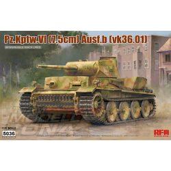 Rye Field Model - 1:35 Pz.Kpfw.VI (7.5cm) Ausf.B. (VK36.01) - makett