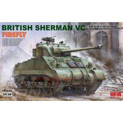 Rye Field Model - 1:35 BRITISH SHERMAN VC FIREFLY - makett