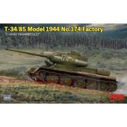 Rye Field Model - 1:35 T-34/85 Model 1944 No.174  - makett