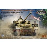 Rye Field Model - 1:35 Panzerkampfwagen IV Ausf.J Sd.Kfz.161/2 (w/full interior&clear parts&workle track links) - makett