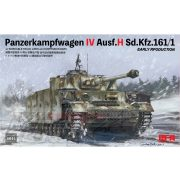 Rye Field Model - 1:35 Panzerkampfwagen IV Ausf.H Sd.Kfz.161/1 EARLY RPODUCTION - makett