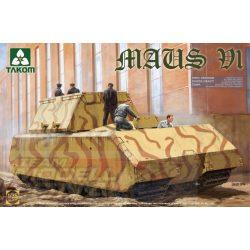 Takom - 1:35 GERMAN SUPER HEAVY TANK MAUS V1 - makett