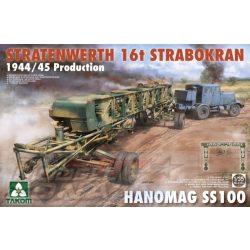 Takom - 1:35 16T Strabokran 44/45 Prod. w Hanomag SS100 - makett