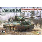 Takom - 1:35 Jagdtiger Sd.Kfz. 186 Porsche Production type - makett